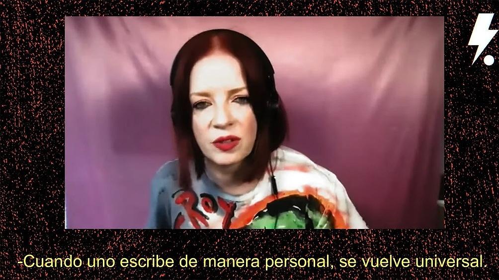 """""""Hoy las mujeres necesitamos más representación"""", aseguró durante la charla con Mikki Lusardi."""