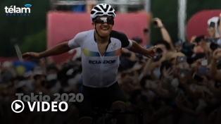 Histórico: el ecuatoriano Richard Carapaz consiguió el oro en ciclismo de ruta
