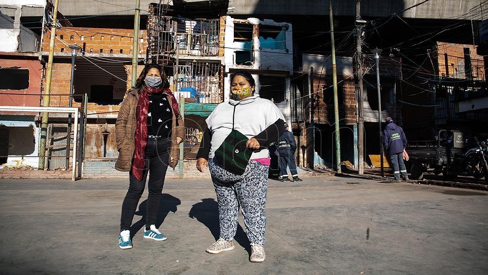 """Las familias de una misma manzana se encuentran """"desparramadas"""" en distintas zonas del nuevo sector.bFoto: Camila Godoy"""