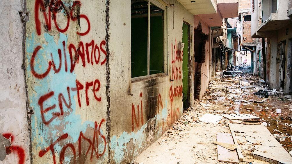 Una de las principales voceras de ese reclamo fue Ramona Medina, referente social del barrio que murió por Covid-19 en mayo del año pasado. Foto: Camila Godoy
