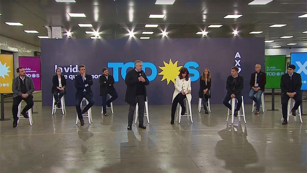 """Fernández pidió a los argentinos y argentinas que """"acompañen"""" con su voto, como lo hicieron en 2019."""