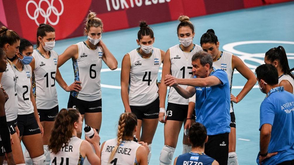 Argentina cayó ante Estados Unidos en el primer duelo de Tokio 2020 (Foto: AFP)