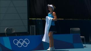 Nadia Podoroska ganó ante una rival kazaja y avanza en Tokio 2020