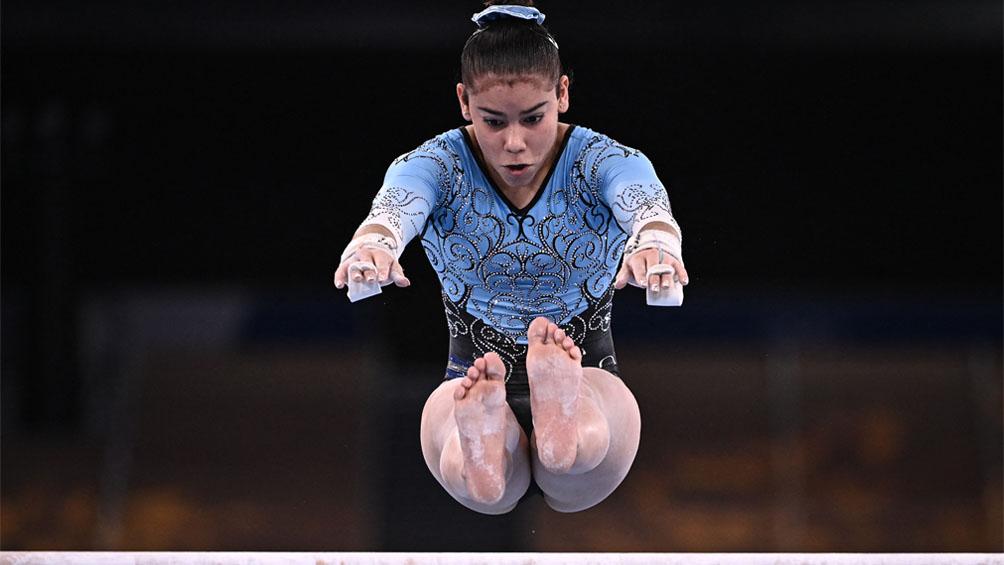 La atleta más joven de la delegación argentina y un un buen debut en Tokio