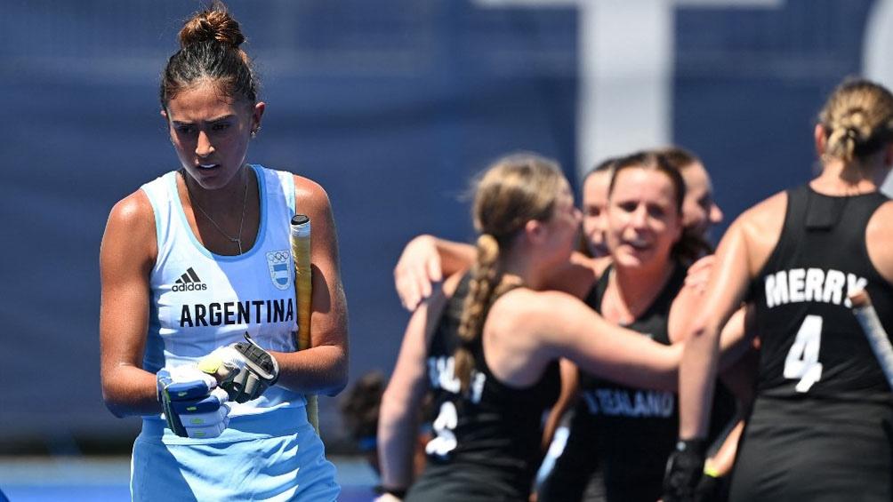 Nueva Zelanda derrotó a Las Leonas en el debut olímpico.