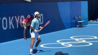 Tenis: Cerúndolo fue eliminado en singles ante Gran Bretaña