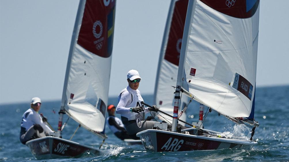 Los resultados de Argentina en windsurf masculino y la clase Laser radial femenina