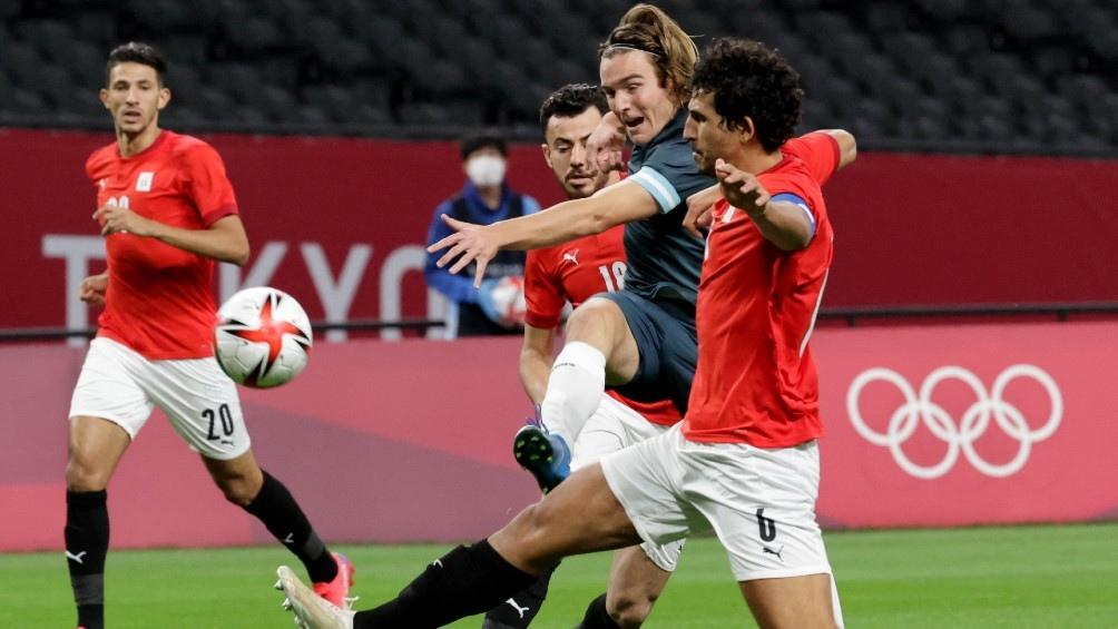 Argentina juega ante España en su tercera participación en los Juegos Olímpicos de Tokio 2020 (Foto- AFP)