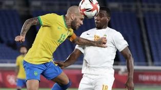 Brasil empató sin goles ante Costa de Marfil en el segundo partido del Grupo D en Tokio 2020