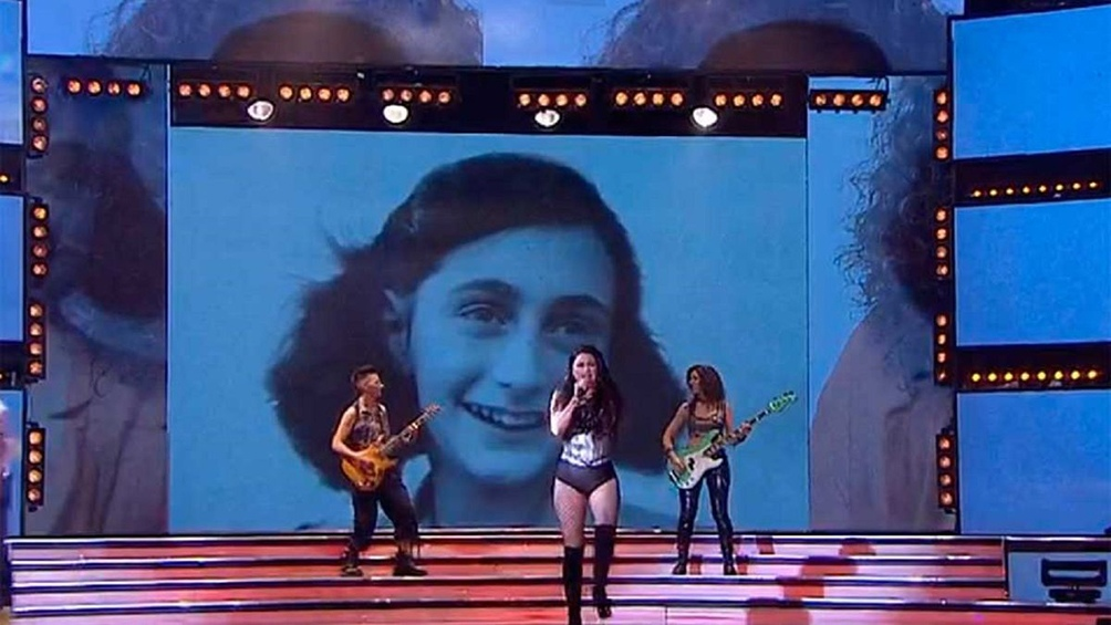 Fuerte repudio y denuncia a Tinelli y Showmatch por la utilización de la imagen de Ana Frank