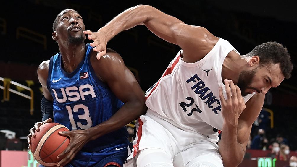 Francia dio el golpe en el debut del Dream Team de Estados Unidos