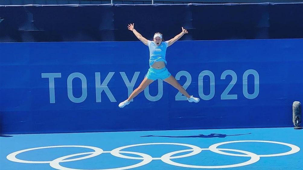 Podoroska y la clave de su victoria:
