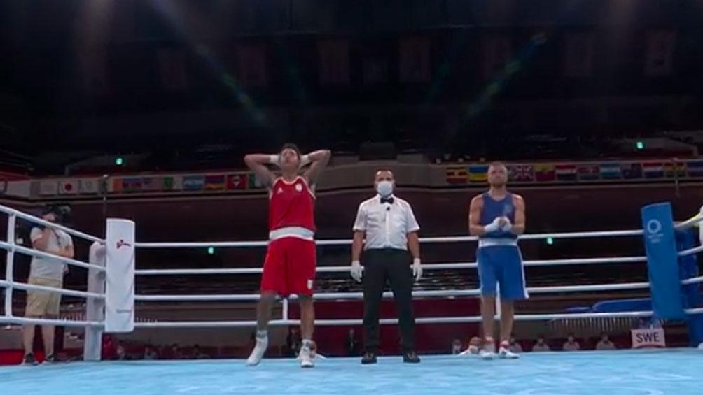 Francisco Verón venció a un rival sueco y clasificó a octavos de final