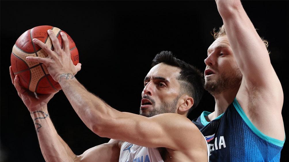 Juegos Olímpicos: flojo debut de Argentina ante Eslovenia