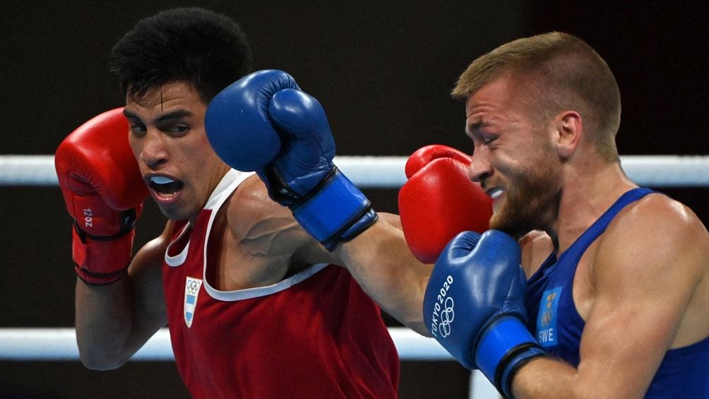 Juegos Olímpicos: Francisco Verón venció a un rival sueco y clasificó a octavos de final