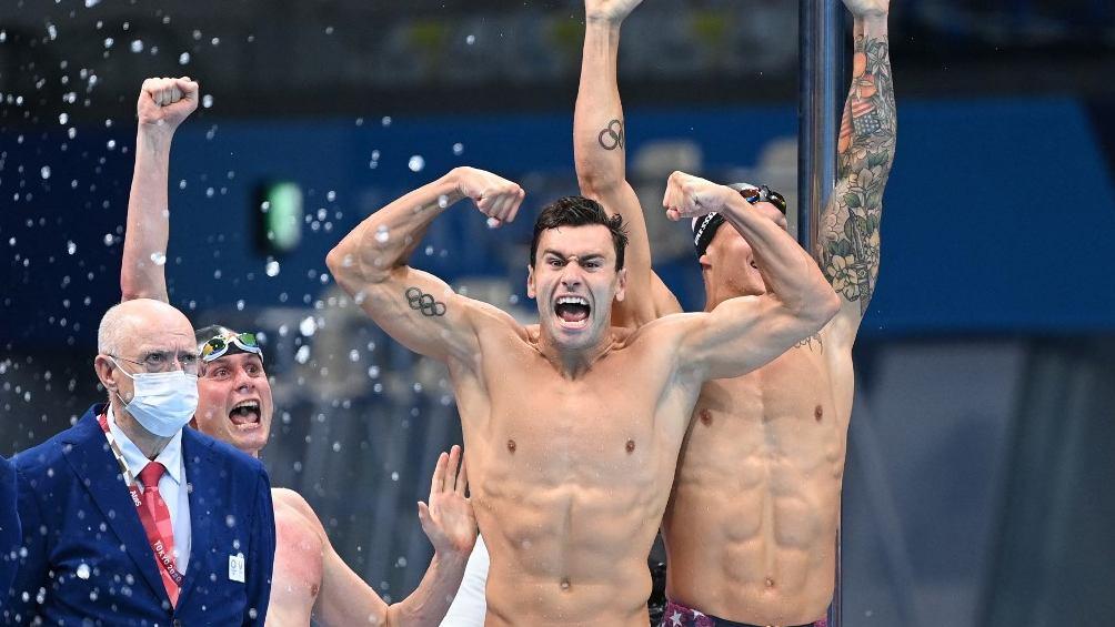 Estados Unidos pasó al frente en el medallero de los JJOO