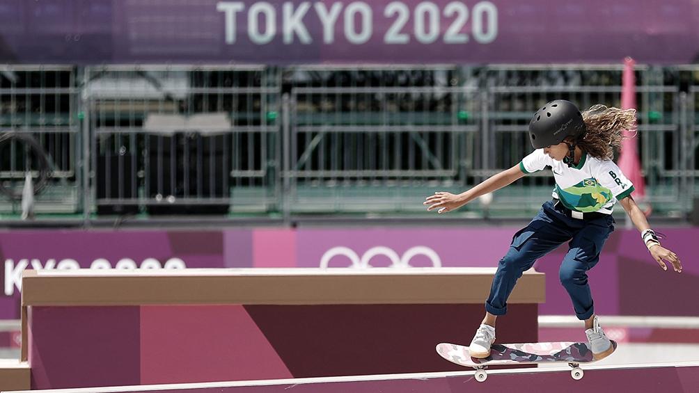 Rayssa Leal, plata con 13 años en skate, hada y leyenda del deporte de Brasil