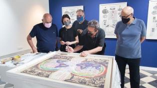 Entre cartografías alteradas y sistemas coloniales, Bienalsur inaugura su primera muestra en Europa