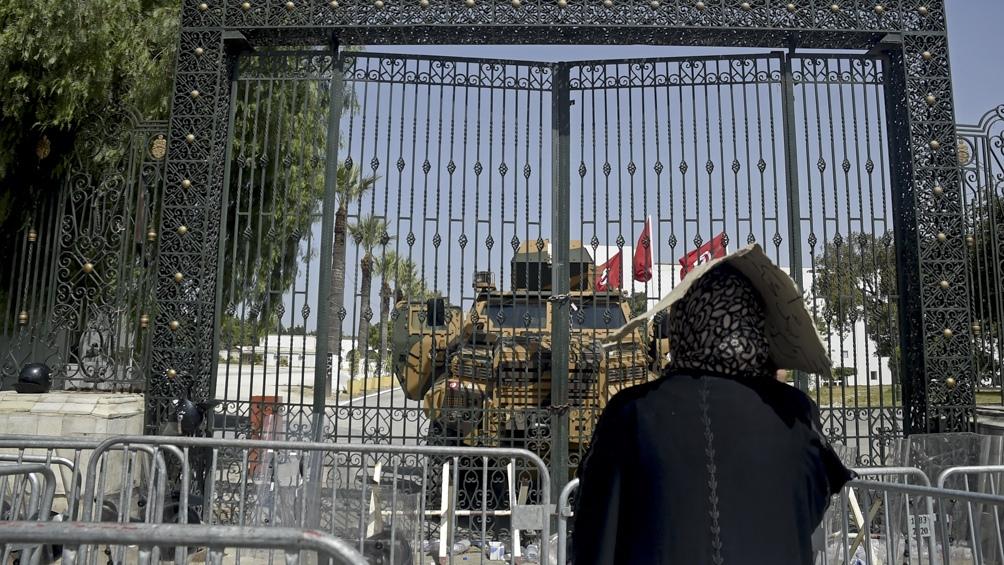 Máxima tensión tras la suspensión del Parlamento. Crédito: AFP