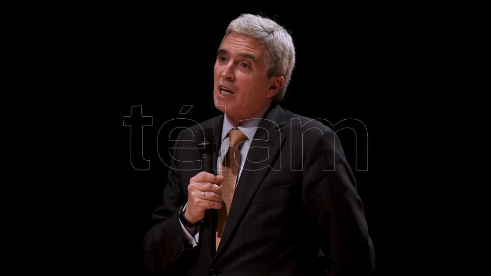 John Peter Camino, embajador del Perú, en el CCK (foto: Julián Alvarez)