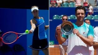 El tenis de doble mixto argentino ya tiene rivales en Tokio 2020