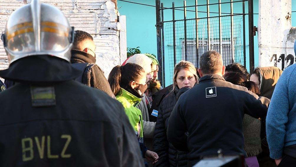 Las víctimas mortales fueron identificadas como Gabriela Perchante, de 64 años, y Natalia Soledad Silva, de 27. (Foto Gustavo Amarelle)