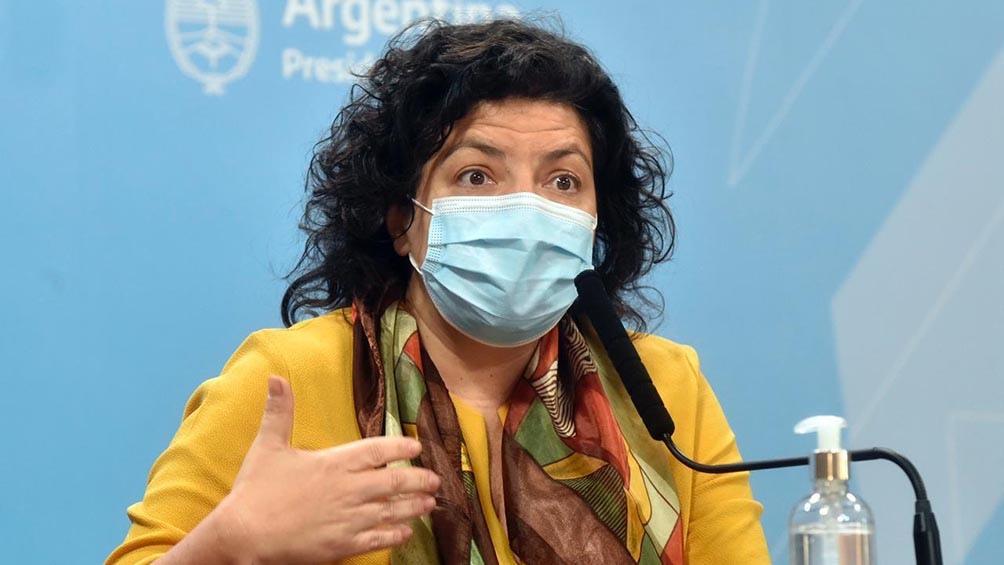 Carla Vizzotti: en septiembre