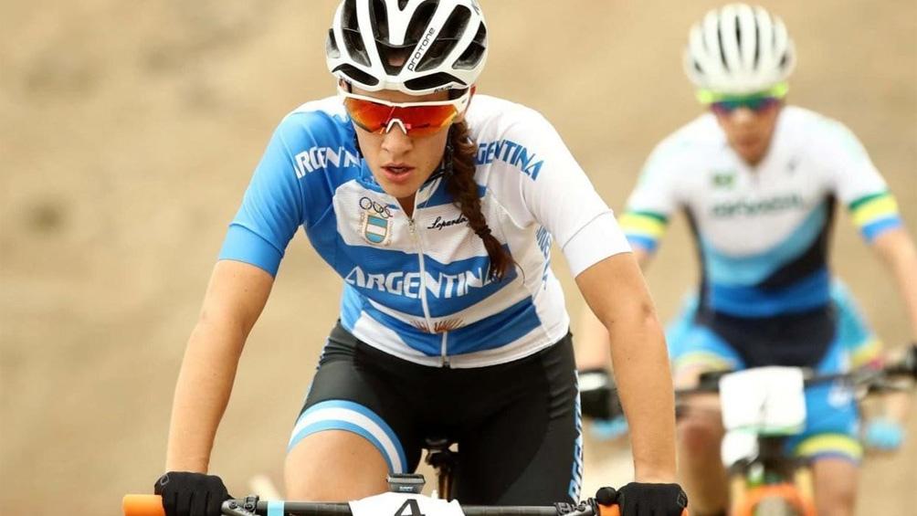 Sofía Gómez Villafañe se mostró orgullosa de haber representado a Argentina.