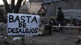 Las familias sin techo denuncian que el gobierno porteño envió policía en vez de dialogar