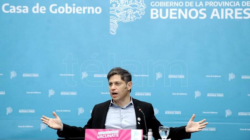 """Kicillof: """"La inversión en obra pública es el camino para la transformación"""""""