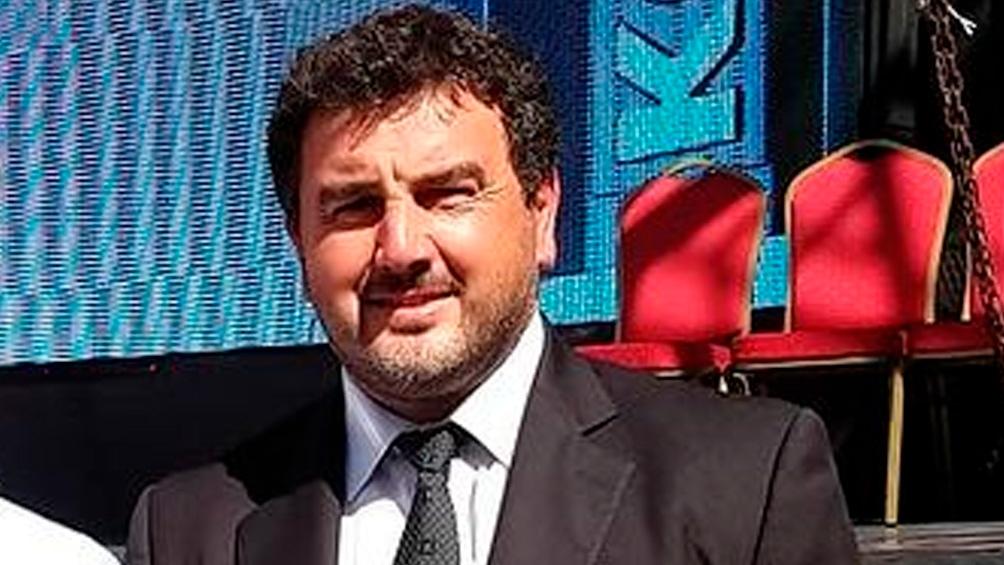 Germán Lauro también es vicepresidente de la Federación bonaerense de atletismo.