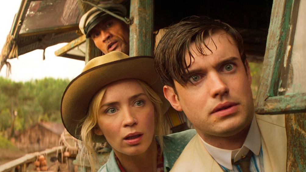 """Emily Blunt y Jake Whitehall en aventura de """"Jungle Cruise"""""""