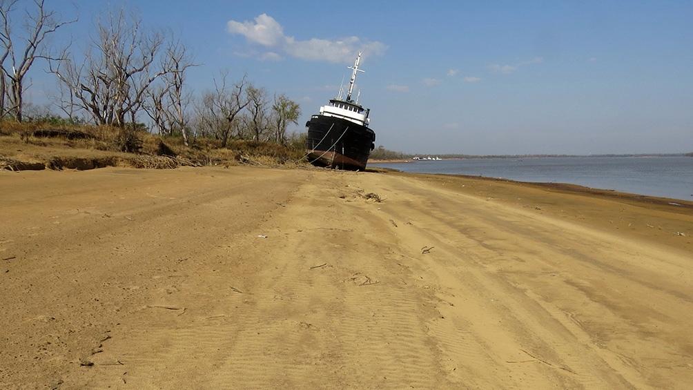 Estudian cómo impacta la bajante del río Paraná en el agro y en el ambiente - Télam - Agencia Nacional de Noticias