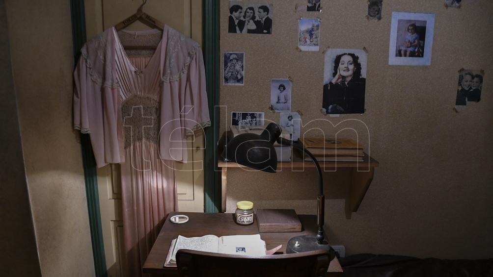 La réplica de la habitación donde se refugió Ana Frank (Foto: Eliana Obregón)