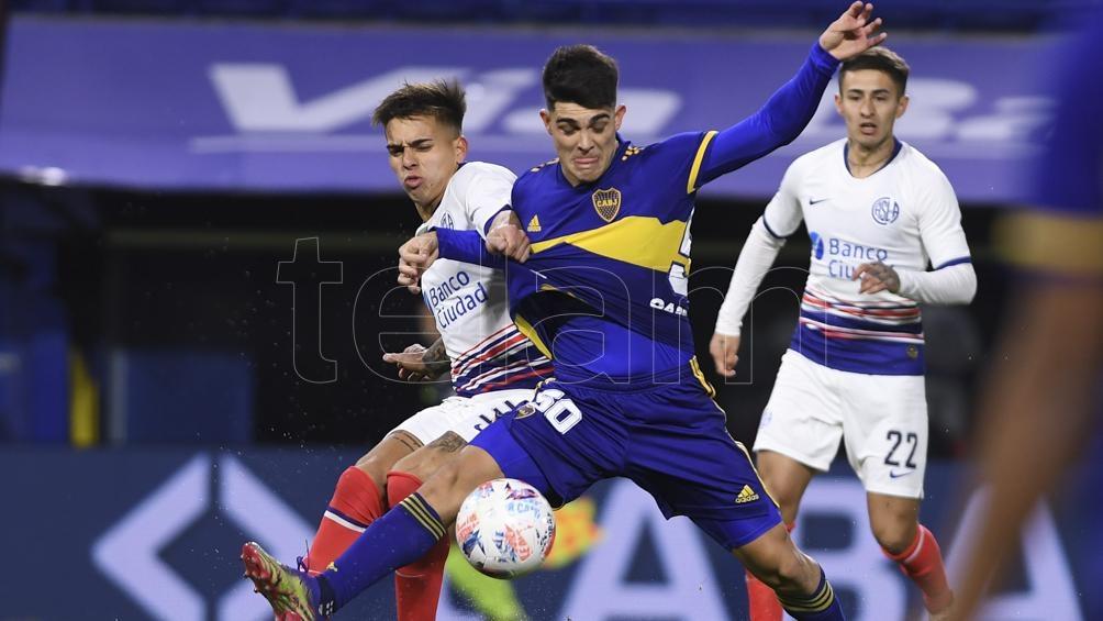San Lorenzo se impuso por 2 a 0. Foto: Maximiliano Luna