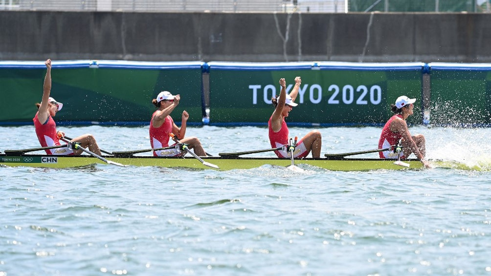 China y Países Bajos ganan en remo con récords del mundo en Tokio 2020