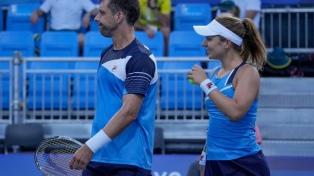 Horacio Zeballos y Nadia Podoroska, eliminados en el tenis mixto