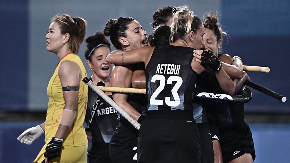Las Leonas se mantienen en zona de clasificación a los cuartos de final.