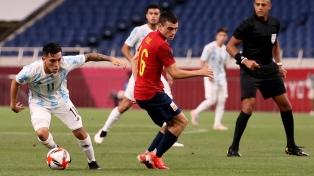 Argentina se lo empató en el final a España, pero no tuvo tiempo para el milagro