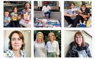 Una iniciativa solidaria recurre a los libros para ayudar a personas en situación de calle