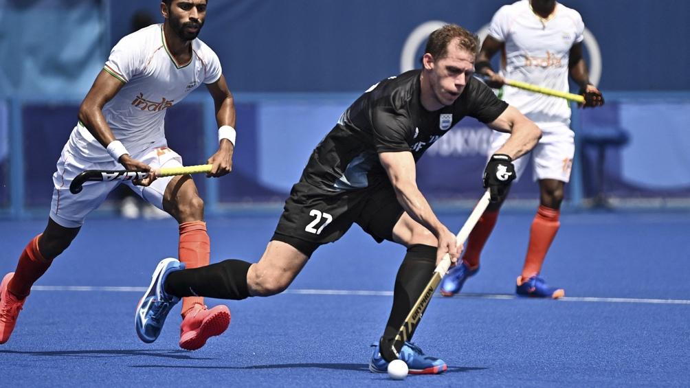 Las Leonas juegan ante Nueva Zelanda en hockey sobre césped (Foto. AFP)