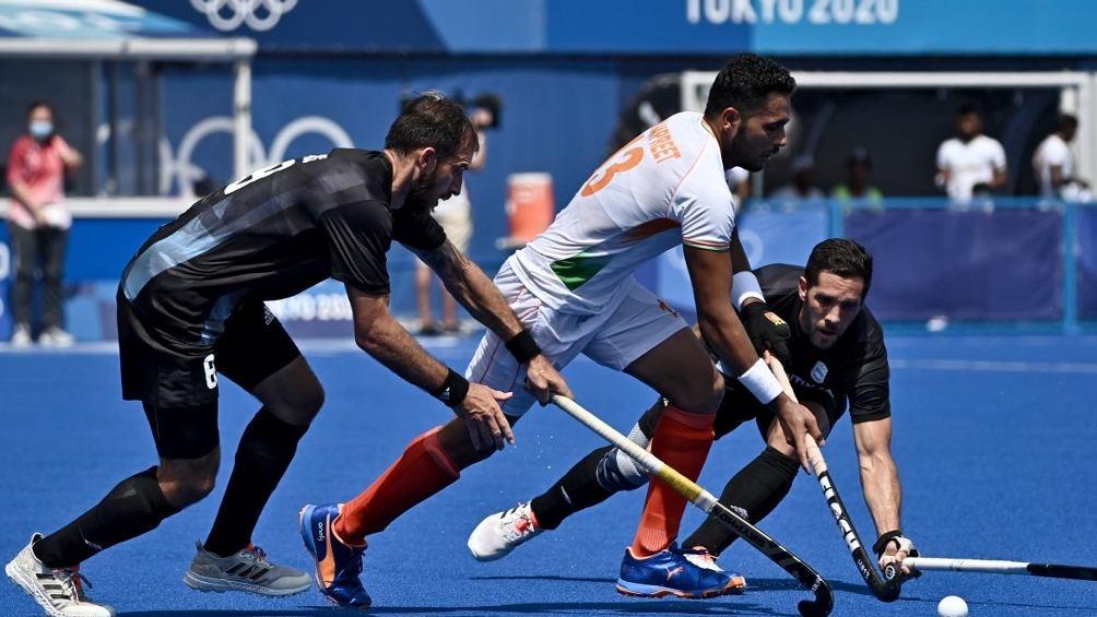 India lo ganó en los últimos minutos y complicó a Argentina en su clasificación (AFP).