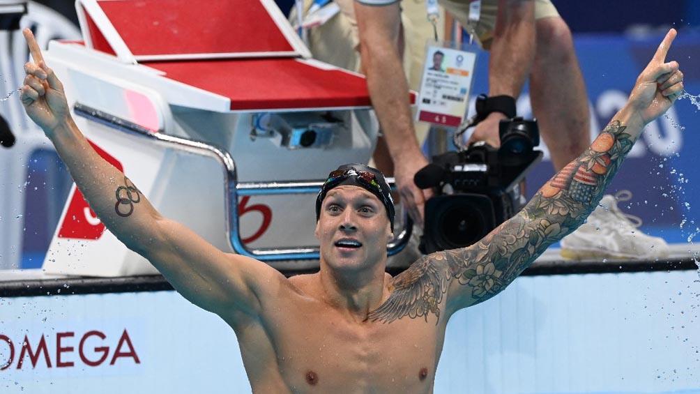 Récord olímpico en la prueba reina de la natación