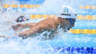"""""""Fue bastante difícil llegar a estos Juegos Olímpicos"""", afirmó el nadador Grassi"""