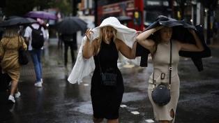 El Reino Unido registra un fuerte aumento de las lluvias y temperaturas más altas