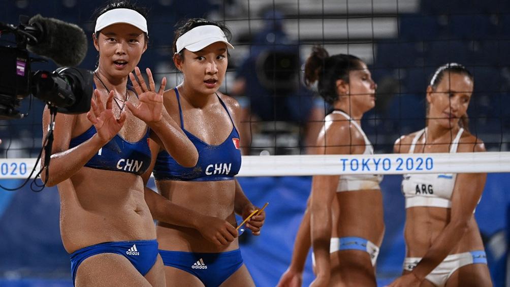 Beach volley: Gallay-Pereyra se despidió con una derrota ante la pareja china