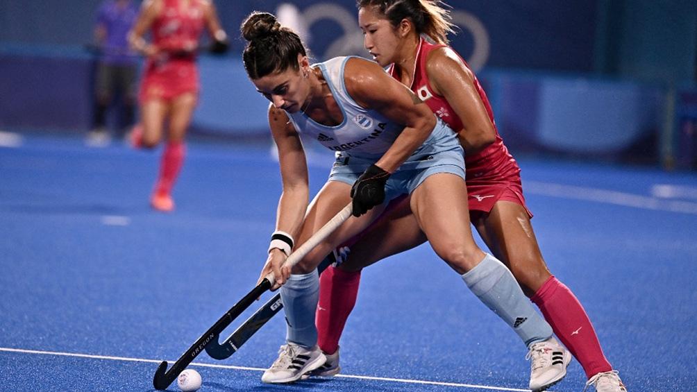 Esta noche jugarán Argentina y Australia en hockey femenino. (Foto: AFP)