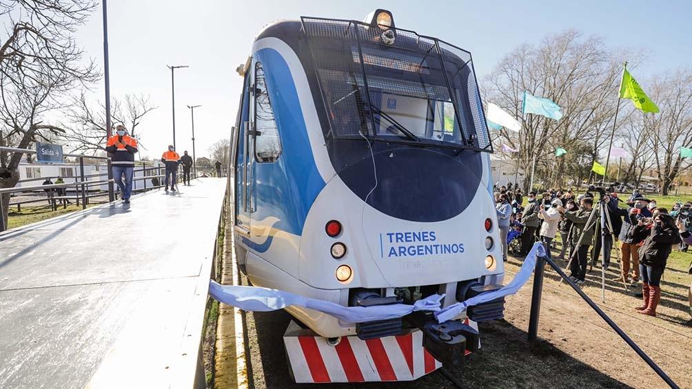 El ferrocarril Belgrano Sur llegó nuevamente hasta la localidad bonaerense de Marcos Paz, después de 28 años de inactividad.
