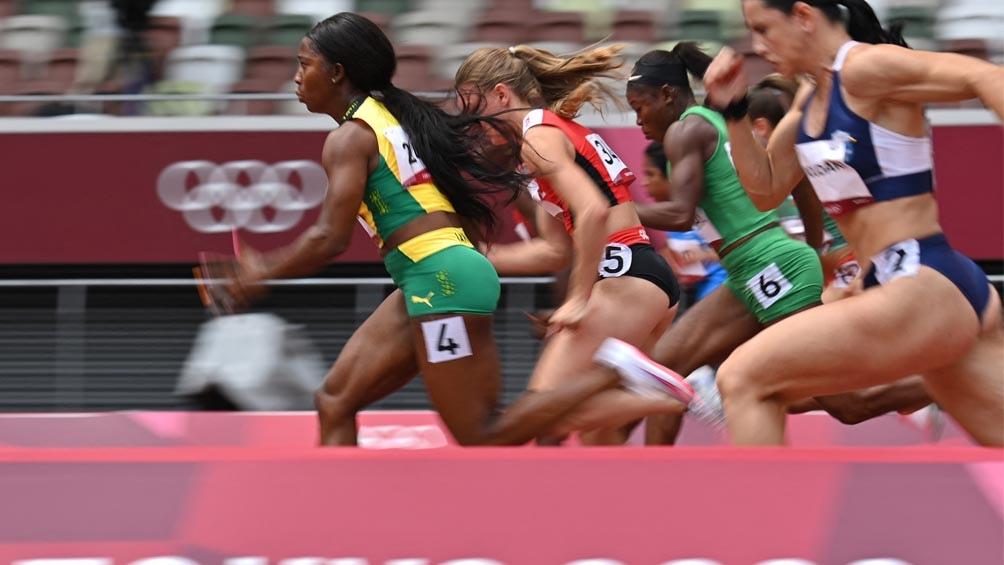 Fraser-Pryce accediió a semifinales de 100 metros en Tokio 2020 (Foto- AFP)