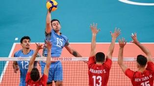 Vóley: Argentina mostró su carácter y dio vuelta un gran partido ante Túnez
